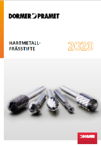 Dormer HM-Frässtifte 2020